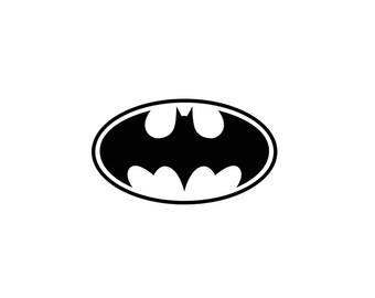 Batman Decal - Batman Vinyl Decal, Wall Decal, Laptop Decal, Batman Gifts, Nerd Gifts, Marvel Comics