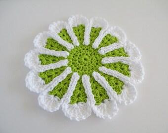 Crocheted Cotton Doilie
