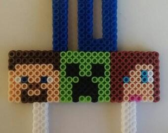 Minecraft cake topper (Steve, Creeper, Alex)