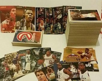 NBA Fleer 94-95 Trading Cards near complete set of 288 Basketball