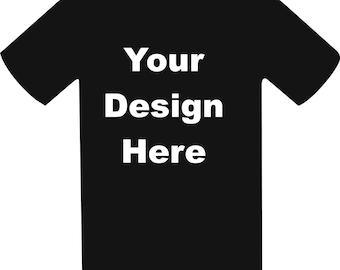 Custom T-shirts, personalize, customize,