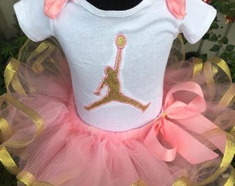 Ready to ship Jordan tutu set