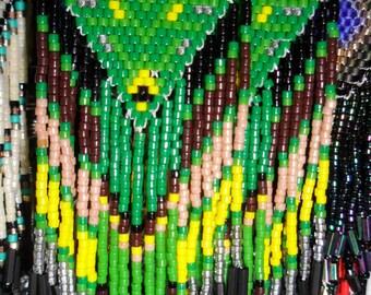 Indian Seed Bead Earrings