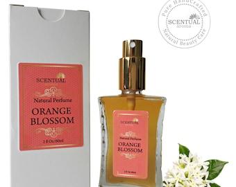 ON SALE Organic Orange Blossom Perfume Oil, Natural Orange Blossom Perfume, Vegan Perfume, Natural Perfume Oil, Gift Idea