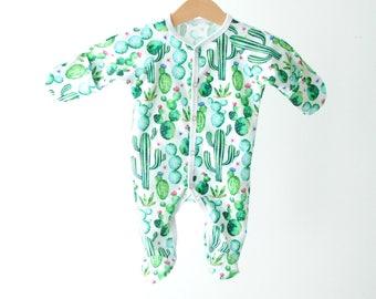Сactus baby Sleepsuits, baby onepiece, Sleepsuits, baby sleepware