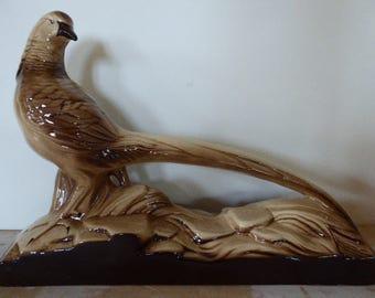 Vintage French Pheasant Figure, Porcelaine Ornament, Home decor 0317006-141