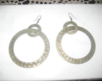 Large Beautiful Hoop Earrings