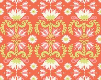 Groovy Lotus - Raaga - Monaluna Fabrics - Organic Cotton Knit by the Yard
