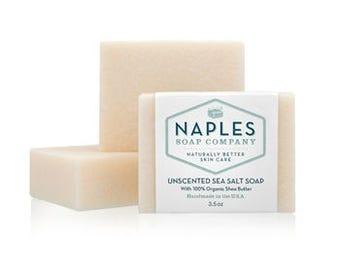 Unscented Sea Salt Soap