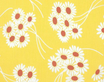 Katie Jump Rope - Daisy Bouquet in Sunflower (Yellow, sunny yellow) by Denyse Schmidt