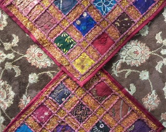 Sequined Pillow Covers from Iraq- A Set of Two