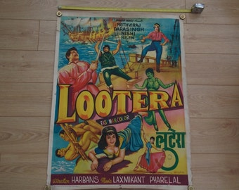 Lootera 1960's Bollywood Film Posters