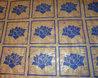 Blue Lotus  (gift wrapping)