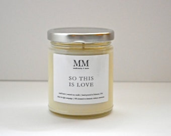 SOTHIS ISLOVE // natural soy candle // hand-poured // small batch