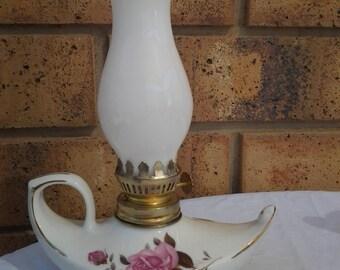 Milk Glass Lamp Etsy