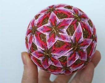 Temari Handmade Japanese Temari Ball Decor Gift