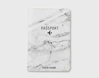 Women's Day Marble passport holder,personalized passport cover,leather passport holder,birthday gift,personalized gift,gift for her