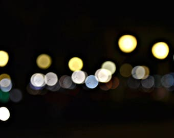 City Lights | Canvas Giclee 16x24in
