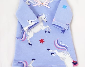 BJD SD unicorn t-shirt