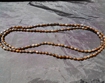"""Job's Tears Seed Necklace Strand of 147 seeds ~48"""""""