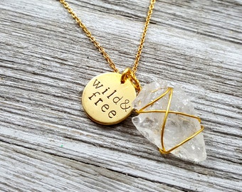 Wild & Free - Arrowhead Necklace
