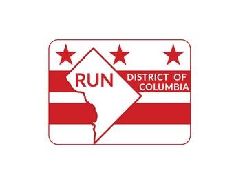 Run DC Flag Magnet