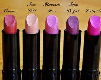 Natural Lipstick, Mineral Lipstick, Mineral Makeup, Lip Care, Lip Color, Lip Tint, Natural Mineral Makeup