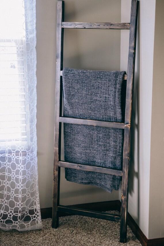 Blanket Ladder 5ft Rustic Ladder Decorative Towel Ladder