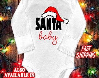 Santa Baby - Christmas baby one-piece bodysuit shirt