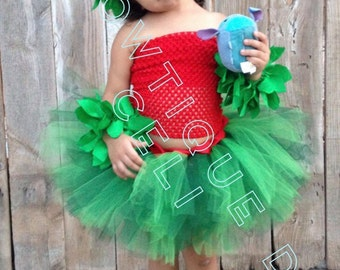 Hawaiian Tutu Dress, Hula Dress, Hawaiian Tutu, Hawaiian Dress, Lilo Tutu, Lilo and Stitch Tutu, Hula Skirt, Lilo and Stitch Tutu Dress