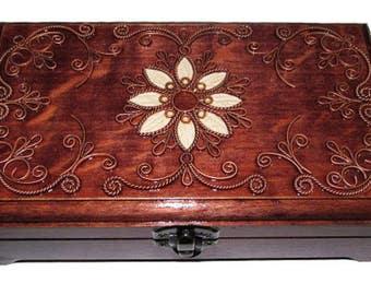 Jewelry box jewelry ring box jewelry box dark jewelry box ring box wooden Jewelry organizer Jewelry storage Jewelry box wood Wedding
