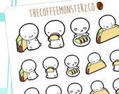 taco time emotis  - emoti planner stickers E119