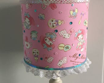 My Melody Alice in Wonderland handmade lampshade