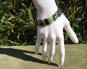 Beads magnetic bracelet