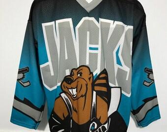 Vintage Cleveland Lumberjacks Hockey Jersey M/L