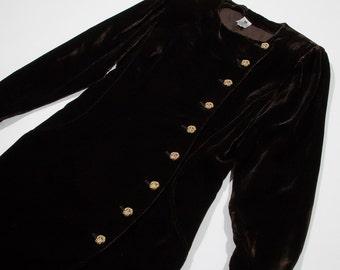 UNGARO - velvet dress