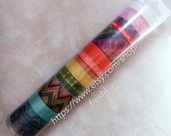 the paper studio washi tape.  Boho. feather