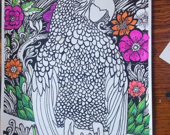 Buy All 3 CurlyTop Art Adult Coloring Books
