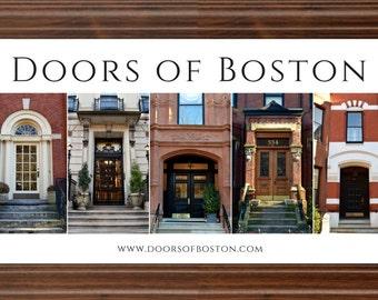 """8""""x16"""" Doors of Boston print"""