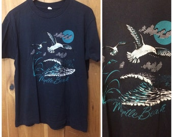 1980s Myrtle Beach destination shirt vintage medium / large Screen Stars