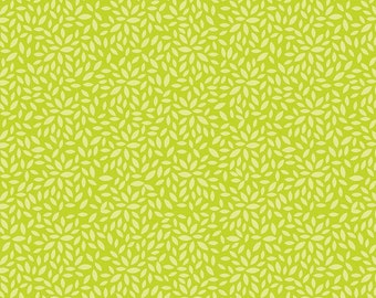 Primavera Leafy in Green Cotton Fabric by Patty Young for Riley Blake