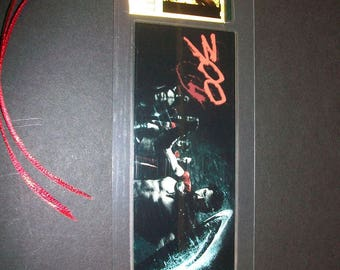 300 Rare Movie Memorabilia Film Cell Bookmark