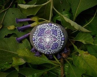 Stone Lotus mandala