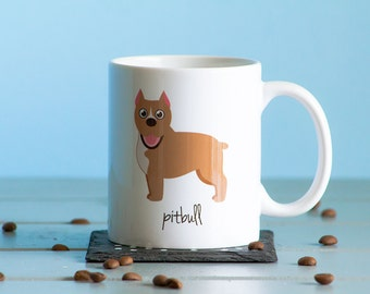 Pitbull Mug (cropped ears)