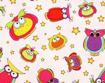 Happy Owl-o-ween by Sue Marsh RJR Fabrics by the Half Yard