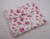Pad Wrapper, Cloth Pad Wrapper, Pad Pouch, Cloth Pad Pouch, Small Wet Bag, Tiny Wet Bag, Make Up Bag, Cosmetic Bag, Cotton And PUL Pouch