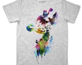 Giraffe men's t-shirt