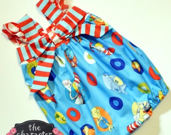 Romper - Dr Seuss Romper **NOTE** Add With or Without Snaps