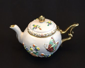 Mini Teapot Trinket Gift Box With Magnetic Lid