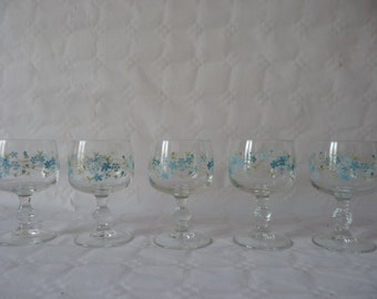 Glasses forget-me-not